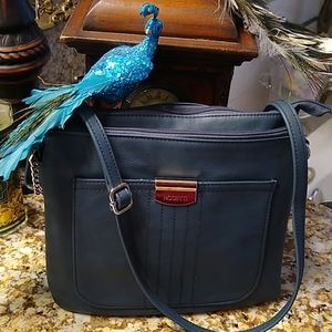 💋🛍️ like new rosetti leather teal purse